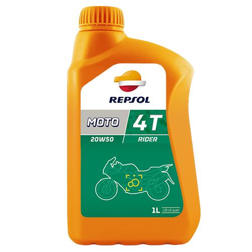 REPSOL MOTO RIDER 4T SAE 20W50