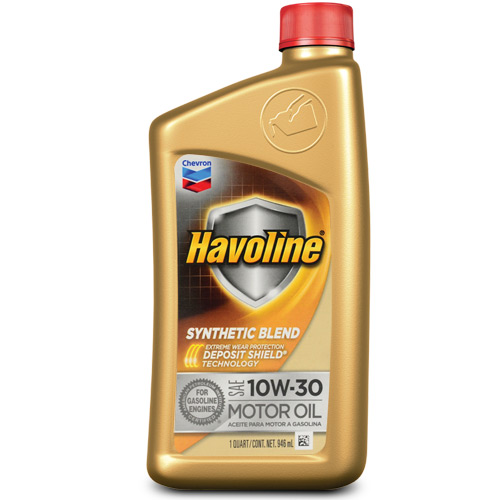 HAVOLINE SYNTHETIC BLEND MOTOR OIL SAE 10W-30