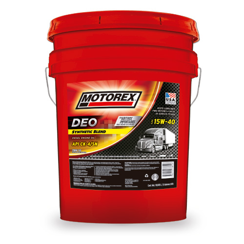 MOTOREX DEO SYNTHETIC BLEND SAE 15W40 CK-4