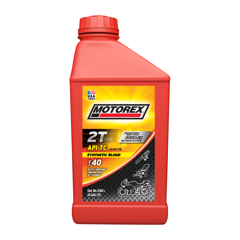 MOTOREX 2T SYNTHETIC BLEND SAE 40