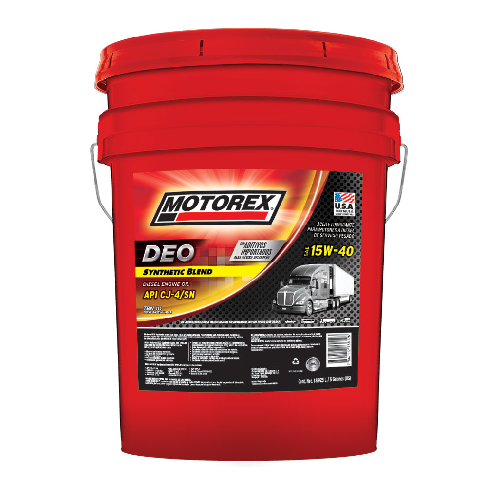 MOTOREX DEO SYNTHETIC BLEND SAE 15W40 CJ4
