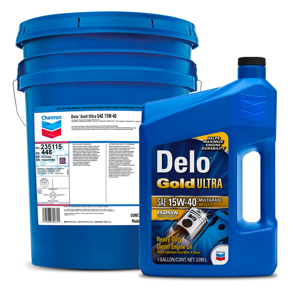 DELO® GOLD ULTRA SAE 15W-40